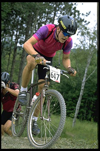 732023 Heren Mountainbike Race Top Van De Klim A4 Photo Poster Print 10x8