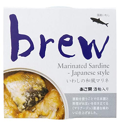 味の加久の屋『brewいわしの和風マリネ酒粕入り』
