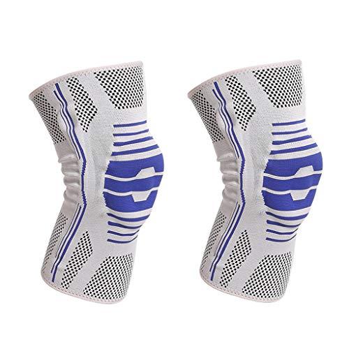 Professionelle Knieschoner, Sportfederband aus dickem Silikon, Rutschfeste Schutzausrüstung, Kniebandage zur Vermeidung von Kollisionen, Save Your Knees