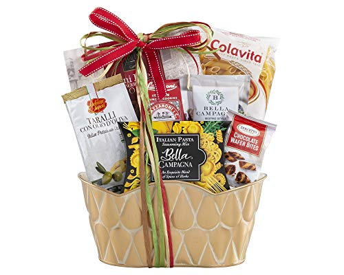 Wine Country Gift Baskets Taste of Italy Italian Gift Full of Italian Gourmet Ingredients Ready to Make an Italian Feast Italian Dinner Ready to Be Made All In One Gift