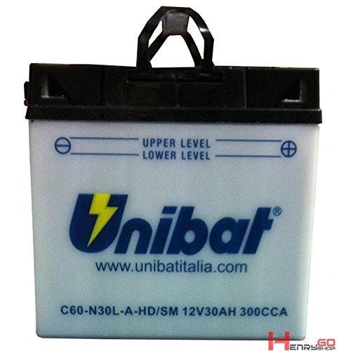 BATTERIA UNIBAT C60-N30L-A\HD (53030)