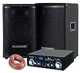 McGrey PA set completo PowerDJ-1500 800W