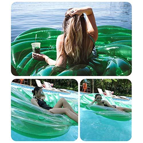 Opblaasbare water hangmat draagbare zwevende bed zwembad plant lounger zomer buitenzwembad mat voor volwassenen en kinderen