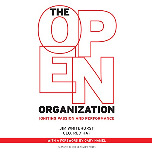 The Open Organization audiobook cover art