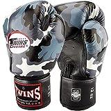 Twins Special Boxhandschuhe, Leder, FBGV-UG, camo