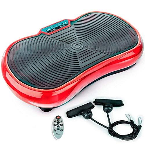 TANGO - Plataforma Vibratoria de Fitness, Control Remoto, Gran Área Antideslizante,...