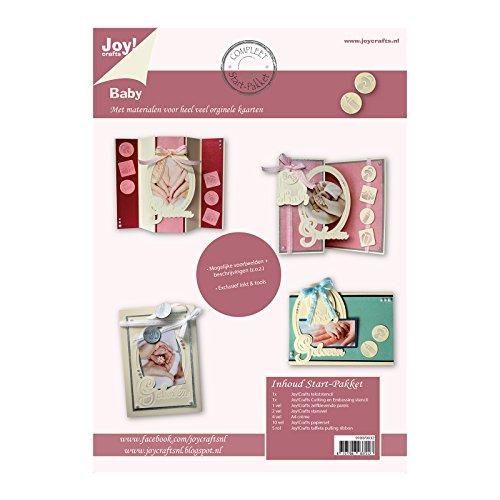 Vreugde!Crafts Complete startset voor het maken van kaarten Baby, Papier, Metaal, Multi kleuren, 30,5 x 30,5 x 1,4 cm