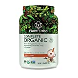 PlantFusion Complete Organic Plant Based Pea Protein Powder |...