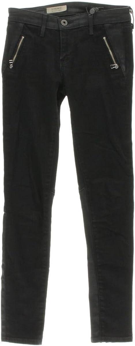 AG Adriano Goldschmied Women's Willow Zip Pocket Legging Jean in Smolder