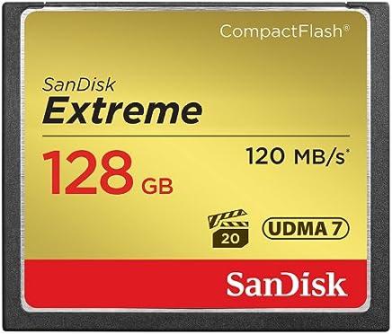 SanDisk Extreme 128GB CompactFlash Memory Card UDMA 7...