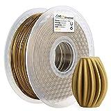 AMOLEN PLA Filament 1.75mm,Frosted Bronze 3D Printer Filament,PLA Filament Metal,1kg(2.2lb)