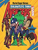 Marvel Super Heroes COLOURING BOOK: JUMBO Coloring Book for Kids Ages 4-8,Marvel Heroes   Great Coloring Pages For Kids,Beautiful Illustrations of ... Super Heroes For Boys And Girls, Adults, Fans