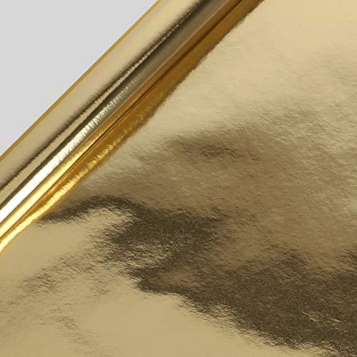 Glanzend Goud Kraft Inpakpapier - 3m