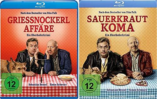 Eberhofer - Grießnockerlaffäre + Sauerkrautkoma im Set - Deutsche Originalware [2 Blu-rays]