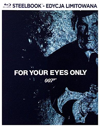 007 - Solo per i tuoi occhi Steelbook (BOX) [Blu-Ray] [Region B] (Audio italiano. Sottotitoli in italiano)