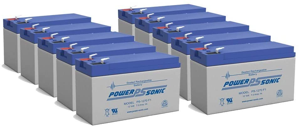 Powersonic PS1270F1 Replacement Ranking TOP6 Rhino Battery 10 National uniform free shipping - Pack