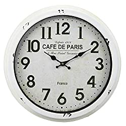 "CC Home Furnishings 18"" Vitaliy Wall Clock"
