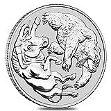 Bulle und Bär 2020 Silbermünze Silber Münze 1 Unze 1 oz in Münzkapsel