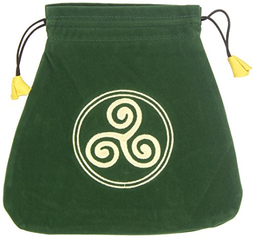 Celtic Triskel Velvet Bag (Bolsas de Lo Scarabeo Tarot Bags From Lo Scarabeo)