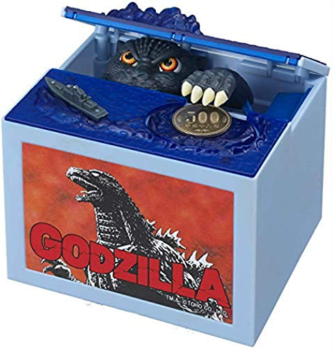 Creative Move Godzilla Bank Musical Automatic Stealing Coin Godzilla Toys for Boys Electronic Piggy Banks Dinosaur Monster Kids Birthday Gifts