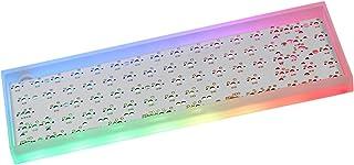 Homyl Transparent 61 Key USB-C RGB Hotswap Switches DIY Kit for 60% Keyboard, Professional Accessories