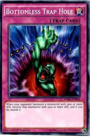 YU-GI-OH! - Bottomless Trap Hole - WIRA-EN056 - Common - 1st Edition...