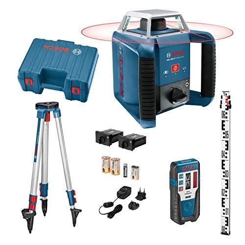 Bosch Professional Bosch Rotationslaser GRL 400 H Set /06159940JY, Blau