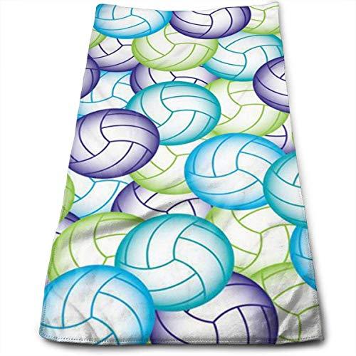 Yuanmeiju Toalla de baño Volleyball Kitchen Towels Quick Drying Hair Towel Beauty Towel Sports Towel Car Towel Furniture Towel 12 X 27.5 in