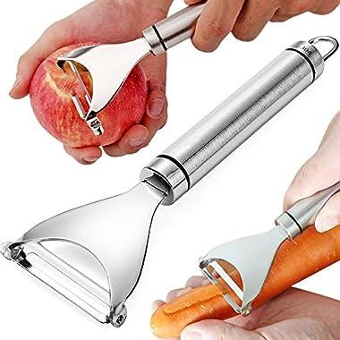 Vegetable Peeler Stainless Steel Super Sharp Potato Peeler Kitchen Gadget 18/8 Dishwasher Safety