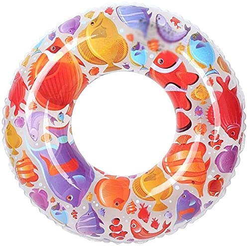 LEYIS Gonfiabile di Anello di Nuoto for Bambini gonfiabili galleggianti Sedia Anello di Nuoto Piscina Vasca da Bagno Galleggiante Anello Anello Adatto for Adulti e Bambini (Dimensioni: 80)