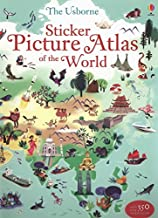 Sticker Picture Atlas of the World (Sticker Books) by Sam Lake (2013-04-01)