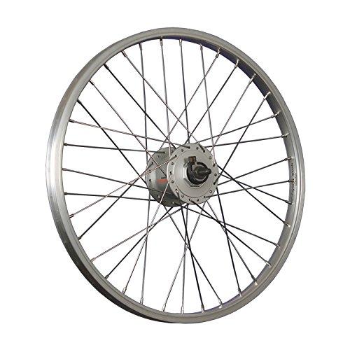Taylor-Wheels 20 Zoll Vorderrad Alufelge/Nabendynamo DH-C3000-3N - Silber