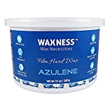 Wax Necessities Waxness Azulene Stripless Hard Wax Tin 14 Ounces