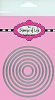 The Stamps of Lifeによる円形ダイカット カード作りやスクラップブック用品 背景ダイカット