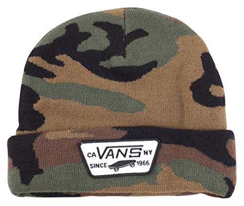 Vans Milford Beanie -Fall 2019-(VN000UOU97I1) - Classic Camo - One Size