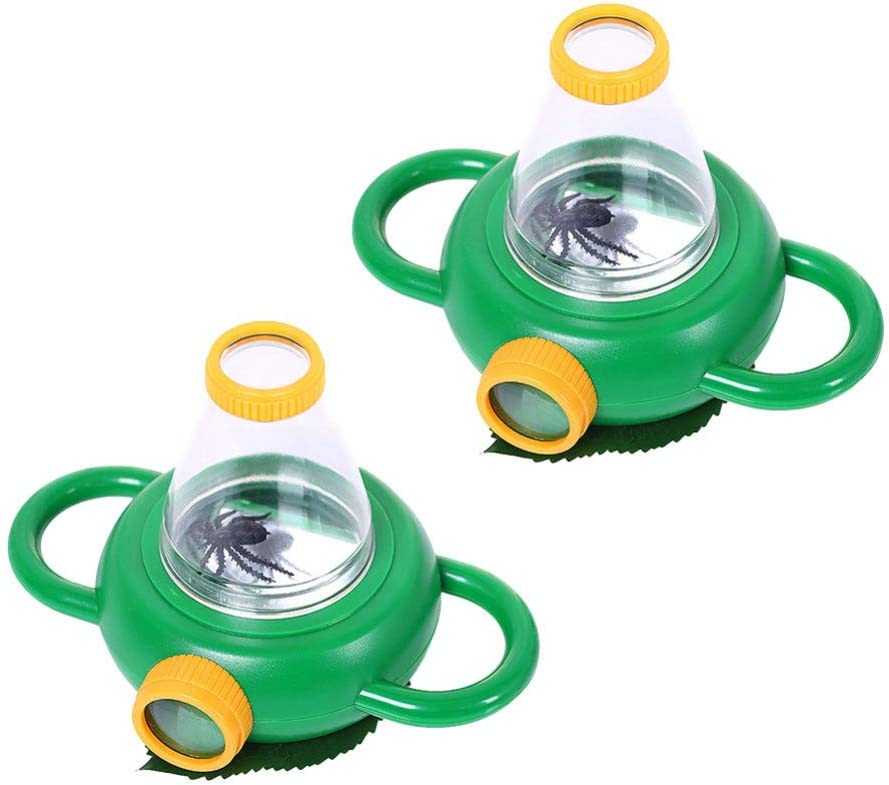 Fashionable BESPORTBLE Small half Insect Magnifier Bug Ma Magnifying Viewers with