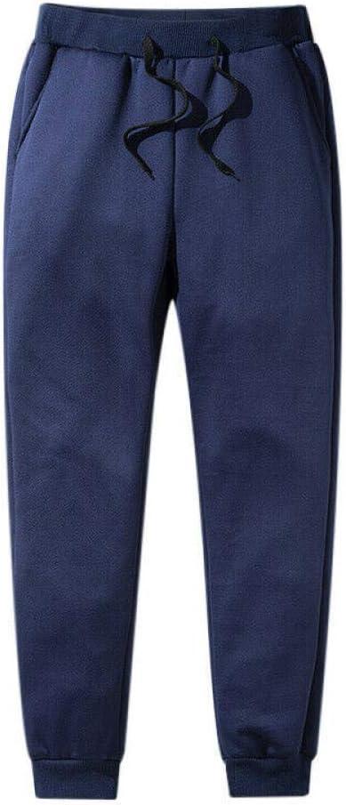 Skyinbags Pantalon en Molleton pour Homme doubl/é en Polaire /épaissi Pantalon de Sport d/écontract/é Pantalon imperm/éable dhiver pour la randonn/ée en Plein air Pantalon de surv/êtement de Course