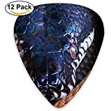 Guitarra Python Animal de sangre fría Pick 12pack