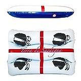 Beachart C145, Kopfstütze, Unisex, für Erwachsene, Weiß und Blau, 50 x 44