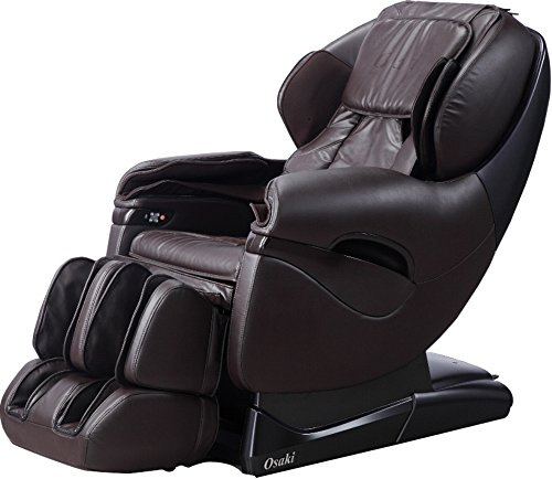 Osaki TP8500B Model TP-8500 Massage Chair, Brown, L-Track Massage Function, Zero Gravity Position, Massage Track, Massage Technique, Air Massage, Foot Massage, Computer Body Scan