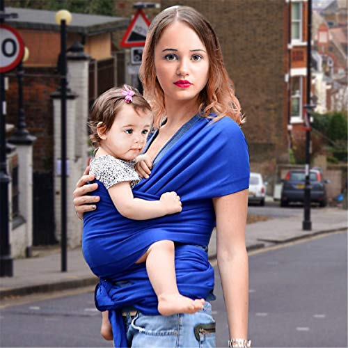 BABIFIS Breathable Baby Ring Sling Carrier Soft Baby Wrap for Newborns Best Shower Gift for Girls & Boys