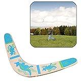 Sqxaldm Boomerang Deportes al Aire Libre Boomerang de Madera en Forma de V Boomerang de Madera al Aire Libre Deportes para Niños Boomerang Juguete Volador de Madera para Deportes al Aire Libre