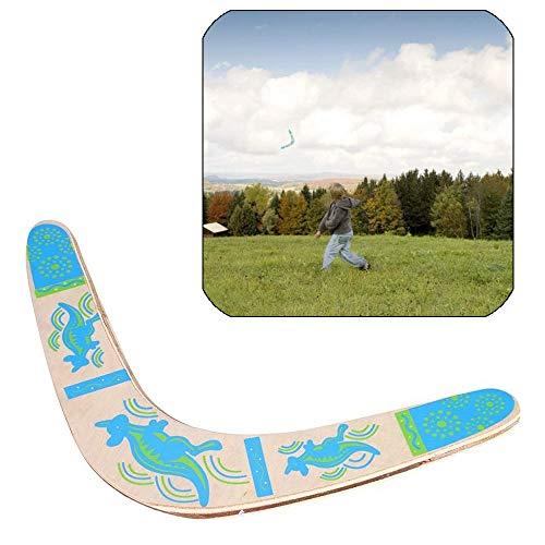 Sqxaldm Hölzerner Bumerang Im Freien Bumerang Handarbeit Fliegender Bumerang Boomerang zum Werfen Boomerang Stabile Hölzerne V Förmige Bumerang aus Holz Umweltfreundlich Kinder und Erwachsene