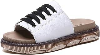 B/H Tongs Homme Slipper Tongs de Plage,Chaussures de Plage antidérapantes été-Noir_39,Doux Antidérapant Pantoufles de Bain