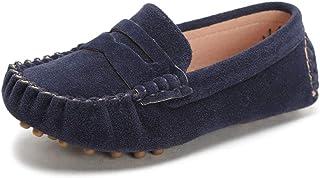 Sunny&Baby Zapatos Mocasines Para Niños Mocasines Para Niños Estilo Deslizante Suela Exterior Antideslizante Fácil de ence...
