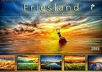 Friesland, verzauberte Landschaft an der Nordsee (Wandkalender 2022 DIN A2 quer): Peter Roder praesentiert eine Auswahl seiner stimmungsvollen Traumbilder aus Friesland. (Monatskalender, 14 Seiten )