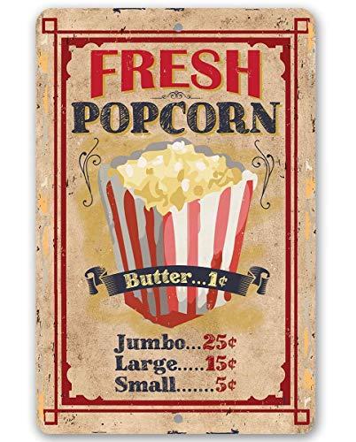 vintage popcorn sign - 2