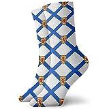 hgfyef Nova Scotia Kanada Flagge Neuheit Kurze Crew Socken Casual Athletic Sports Crew Tube SocksBeautiful 9557