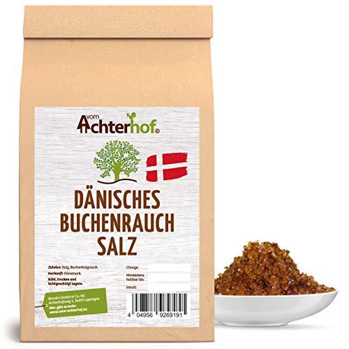 500 g Dänisches Rauchsalz Buchenholzrauchsalz kaltgeräuchert Premiumqualität natürlich vom-Achterhof