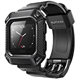 SUPCASE [Unicorn Beetle Pro] Rugged Case Strap Bands for Fitbit Blaze Fitness Smart Watch,Fitbit Blaze Bands with Protective Case (Black)